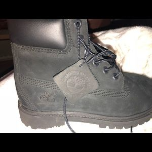 Infant Boys Black Leather School Boots Shoes BNIB